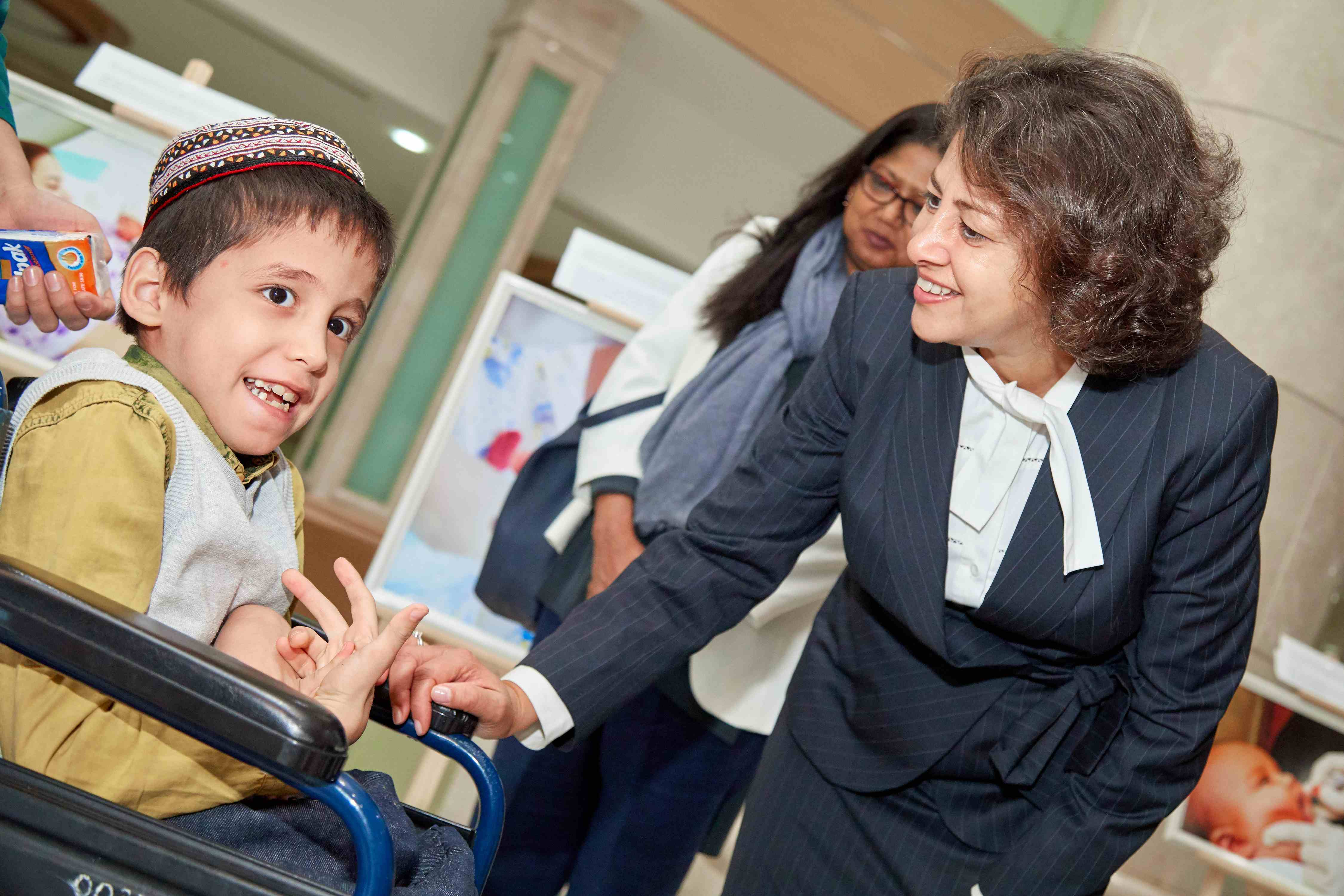 Early Childhood Development services help children to reach their best potential in Turkmenistan