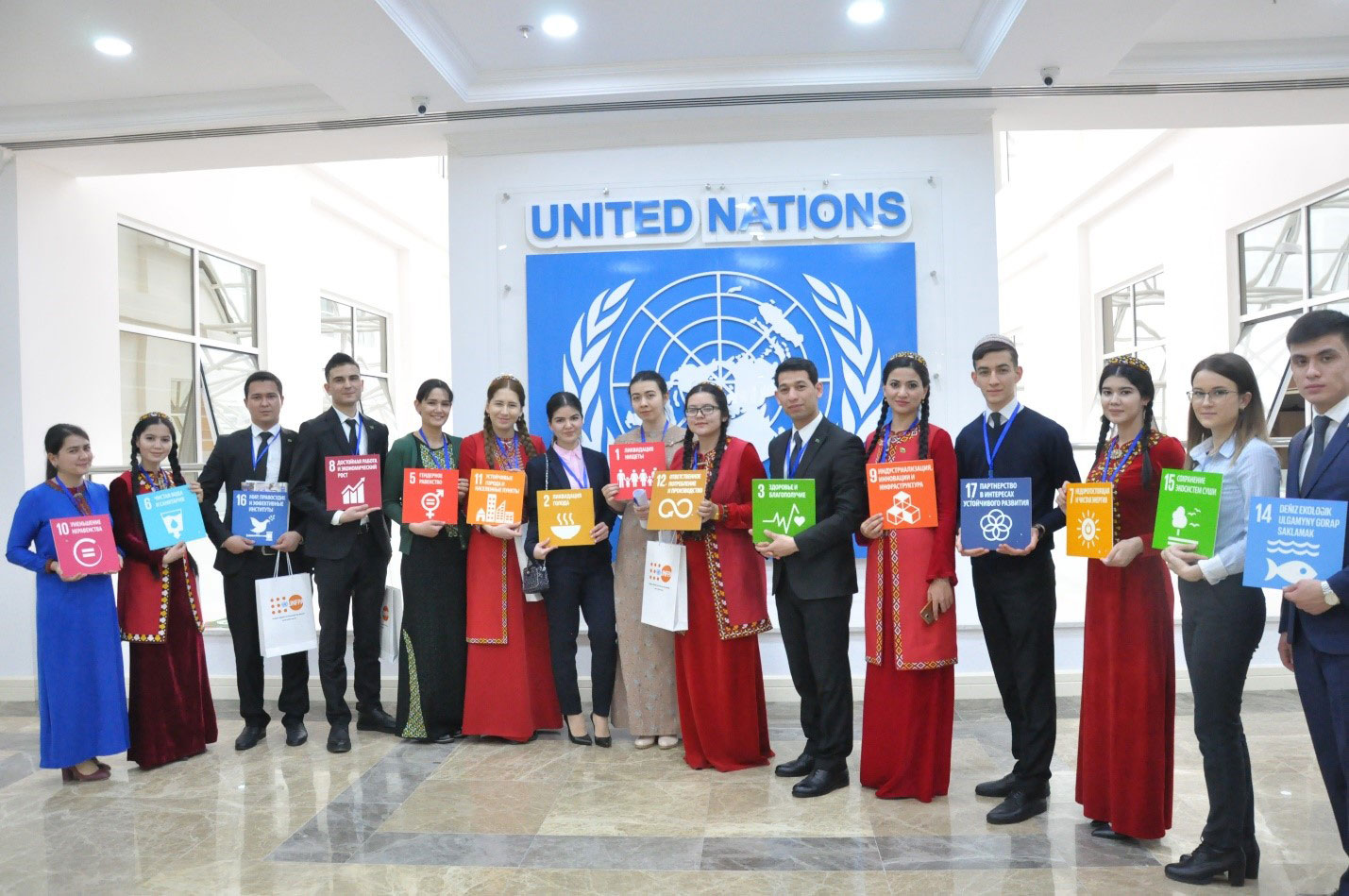 Young SDG Ambassadors to advocate for Agenda 2030 in Turkmenistan