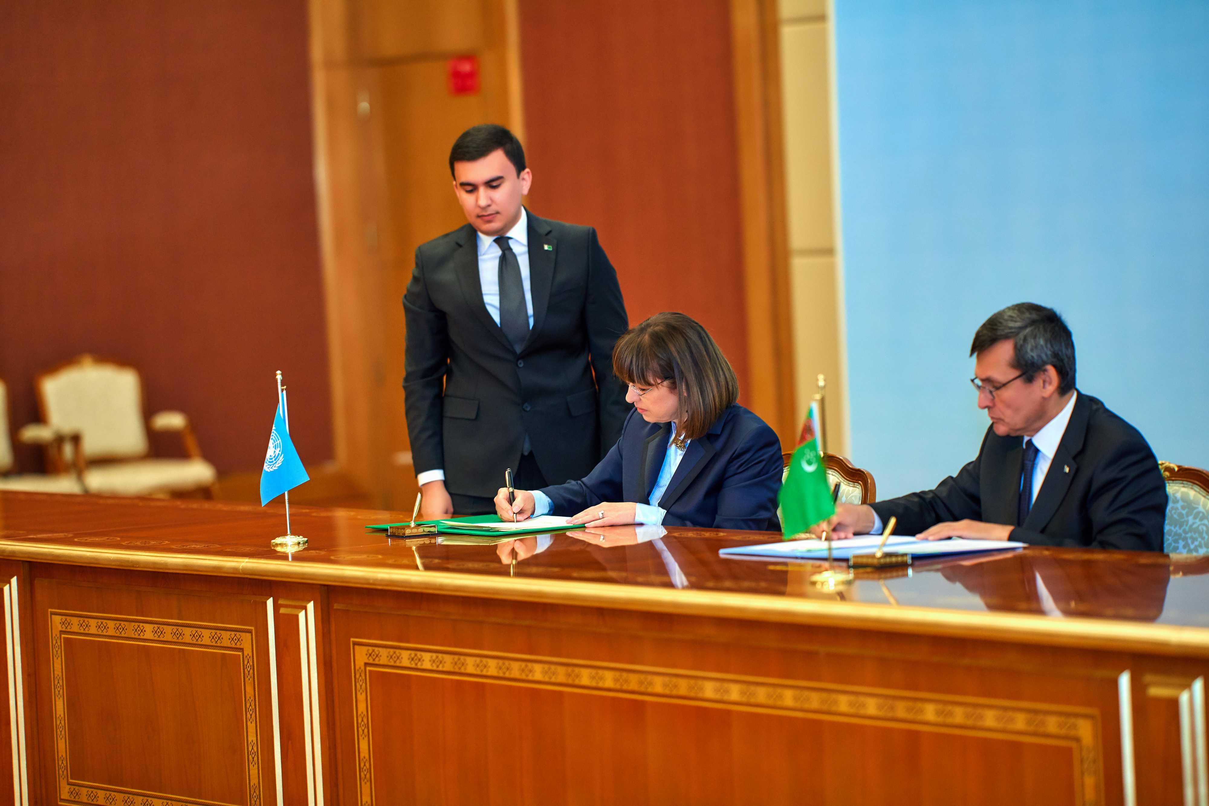 Определение стратегических направлений совместного сотрудничества в Туркменистане на ближайшие пять лет