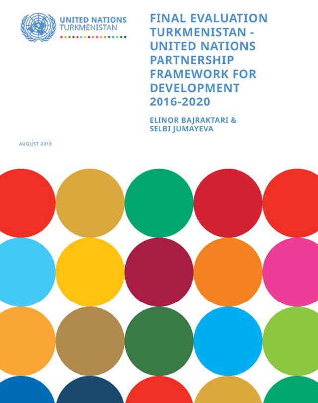 Отчет по итогам приведённой в 2019 году оценки исполнения Рамочной программы партнерства на 2016-2020 годы