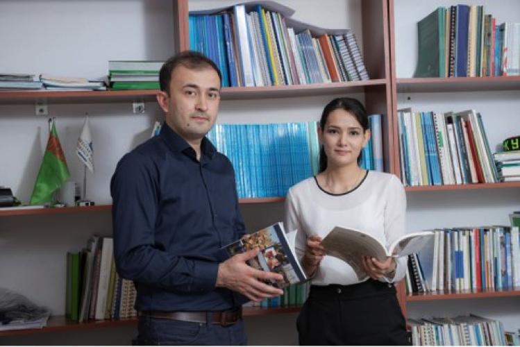 Halkara Migrasiýa guramasynyň Aşgabatdaky edarasynda täze tejribeçiler işe başlaýarlar