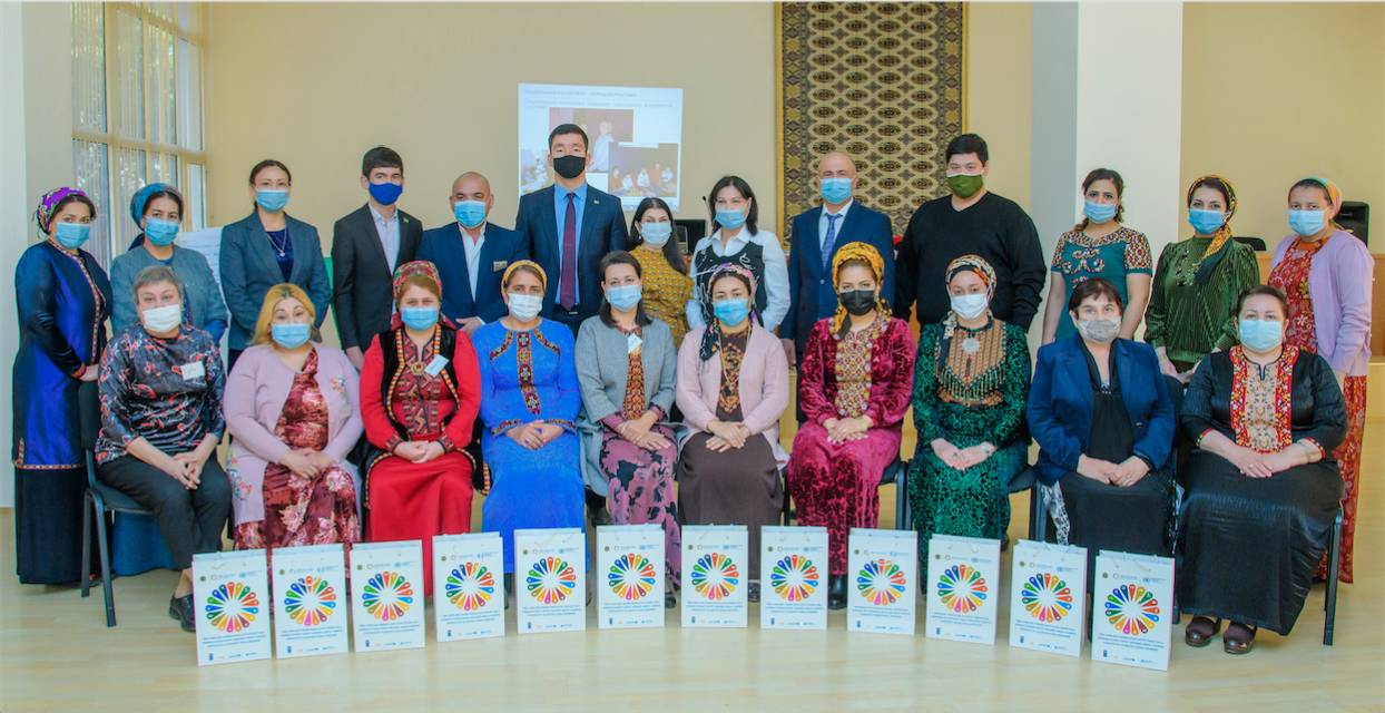 Strengthening social workforce capacity in Turkmenistan