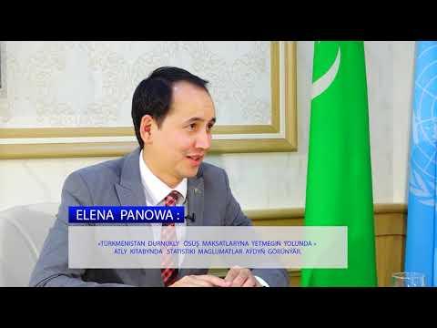 Интервью г-жи Елены Пановой, Постоянного координатора ООН в Туркменистане